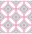 intricate mandala pattern blue background vector image vector image