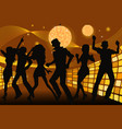 partying people vector image vector image