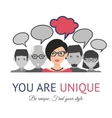 People group communication vector image