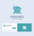 architecture bank banking building federal vector image vector image