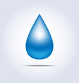 Drop icon vector image vector image