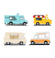 food truck designs vector image