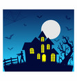 halloween t shirt design and background vector image vector image