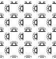 Metal Knuckles Seamless Pattern vector image vector image