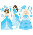 Princesses Set vector image vector image