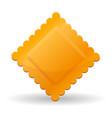 ravioli pasta icon cartoon style vector image