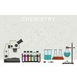 Chemistry banner vector image