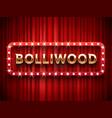bollywood cinema vintage indian movie vector image vector image