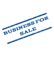 Business For Sale Watermark Stamp vector image