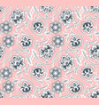 chinese background with flowers vector image vector image
