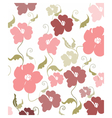 Poppy flowers pattern vector image