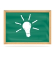 School board with a picture vector image