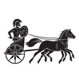 chariot vector image vector image