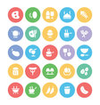 Food Icons 3 vector image