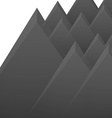 Mountains isolated vector image vector image
