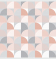 pastel and gray tile and patch seamless pattern vector image