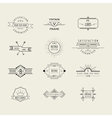 Set of Badges and Labels Elements vector image vector image