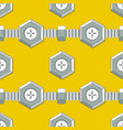 symmetrical background with stud bolt vector image