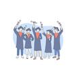 education graduation awarding concept vector image
