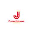 jh church logo design vector image vector image