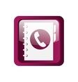 Phonebook icon symbol design vector image vector image