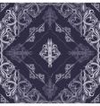 purple diamonds vector image vector image