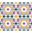 Seamless vintage pattern Ethnic background vector image