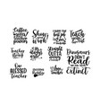 teachers day typography lettering design vector image