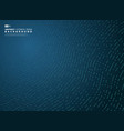 Abstract gradient blue tech line decoration style