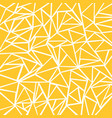 abstract yellow mustard white geometric and vector image vector image