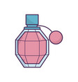 female fragrance aroma icon on white background vector image