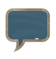Grey rounded chalkboard vector image