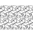 minimalistic black ink concept seamless pattern vector image vector image