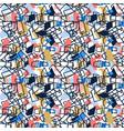 modern and fashion random abstract creative vector image vector image