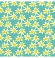 Seamless colorful pattern with spring vector image vector image