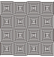 abstract black and white geometric pattern vector image vector image