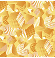 abstract geom repeatable motif for surface design vector image vector image