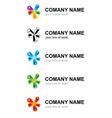 branding logo vector image vector image