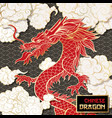 chinese dragon color vector image vector image