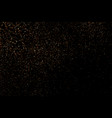coffee color grain texture isolated on black vector image
