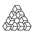 Impossible shapes optical