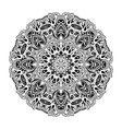 mandala ethnic decorative round element hand vector image