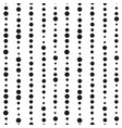 minimalistic black ink concept seamless pattern vector image