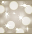 abstract blurred light bokeh bright vector image vector image