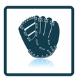 Baseball glove icon vector image vector image