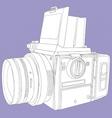 film camera vector image vector image