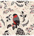floral seamless pattern holiday background web vector image vector image