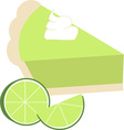 Lime Pie vector image vector image
