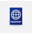 Passport blue sign