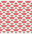 Pastel color blocked pattern vector image